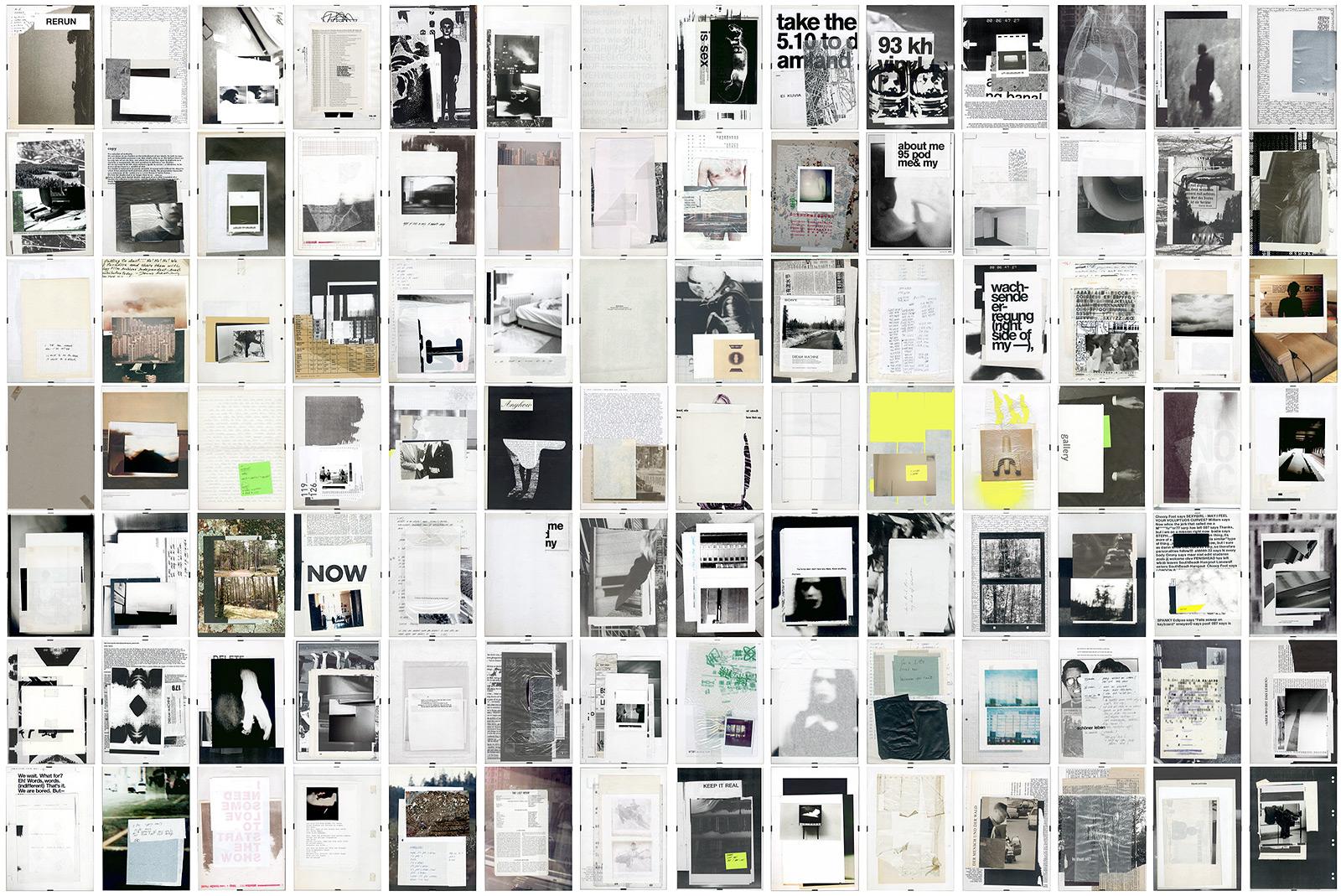 Esther Hunziker – The Wasted Documents Showbag Frames, 2010-2014
